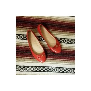 kate spade Shoes - Red flats